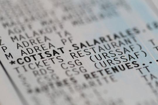 Détail Bulletin : Tickets Restaurant