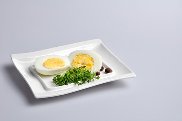 eggs and vegetables on a white plate 6