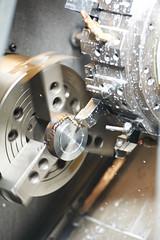 metal blank machining process