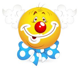Smiley Vector Illustration - Joker Face