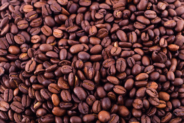Coffee brown beans