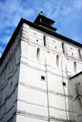 Old monastery tower. Trinity Sergius Lavra, Russia.
