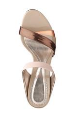 A beautiful high heel woman shoe