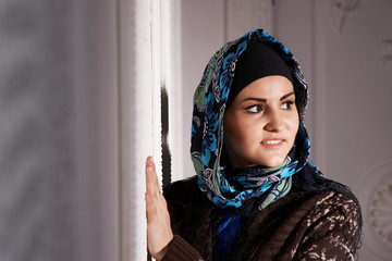Beautiful Muslim girl