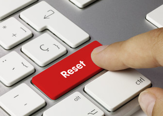 Reset tastatur Finger