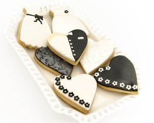 Wall Mural - Galletas de boda