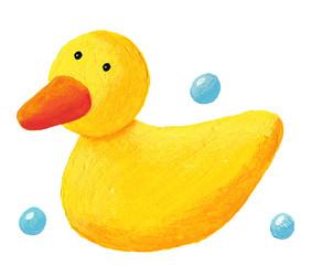 Cute rubber duck