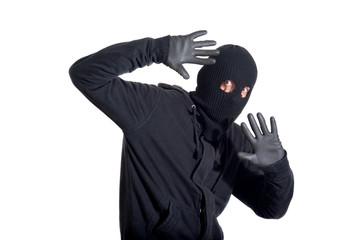 Caught burglar - fototapety na wymiar