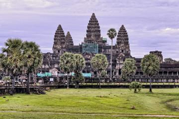 Angkor Wat Temple Purple Sunrise