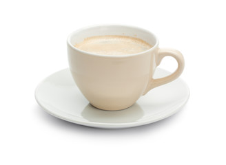 Single isolated Coffee Cup