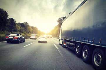 Fototapete - Autobahn