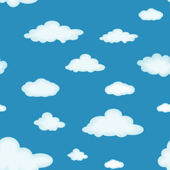 Poster Hemel Cloudy background