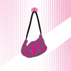 fashion pink bag