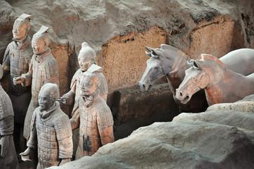 Papiers peints Xian Armée de terracotta à Xi'an - China