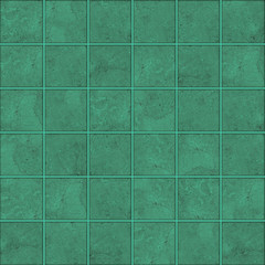 High-quality Green mosaic pattern background