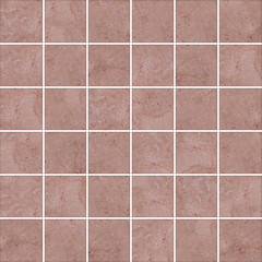 High-quality Pink mosaic pattern background.
