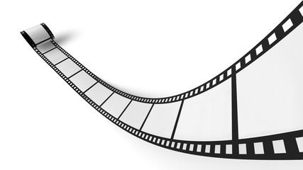 Blanko Filmrolle Weiß Schwarz 03