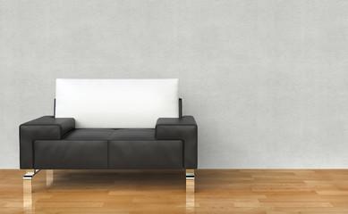 Armchair White Lounge