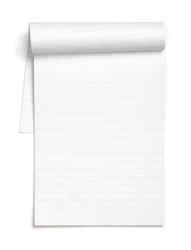 Empty note book