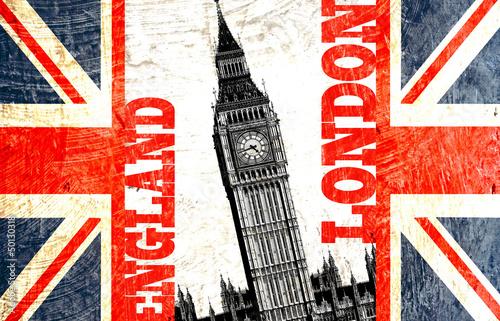 drapeau anglais coup avec crit london england et big ben photo libre de droits sur la banque. Black Bedroom Furniture Sets. Home Design Ideas