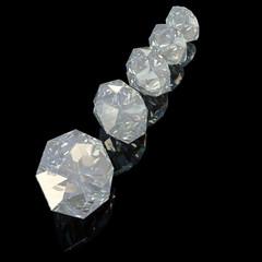 Diamonds - 3D Render