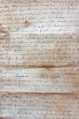 handgeschriebener brief