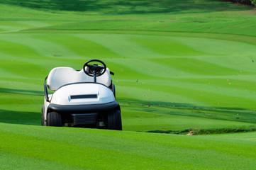 Golf cart.