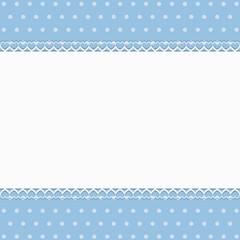 Azure Background with lace - Place your text