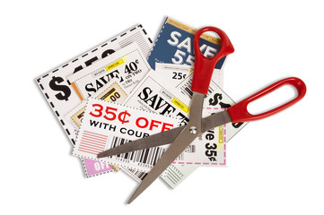 Coupons With Scissors XXXL