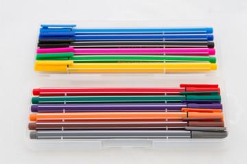 Multicolored pens