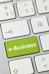 e-Business tastatur finger