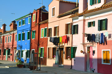 Burano, Venedig, Italien