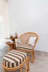 Bamboo rattan furniture