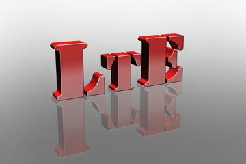 LTE Spiegeleffekt 3D