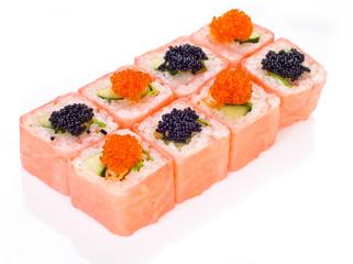 cute pink sushi roll