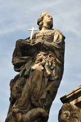 Saints Barbara, Margaret and Elizabeth on Charles Bridge