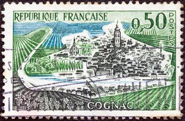 Cognac town (France 1961)