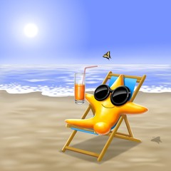 stellina in spiaggia