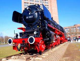 Dampflokomotive in Braunschweig