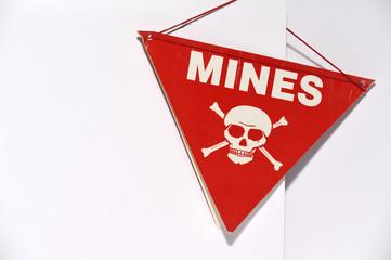 Mines; Vorsicht Minen