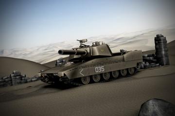 Foto op Canvas Militair Panzer