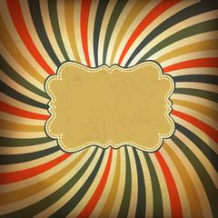 Fond de hotte en verre imprimé Affiche vintage Grunge vintage background. Vector, EPS10