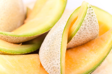 macro picture of melon skin