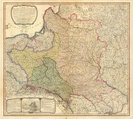 Poland old map