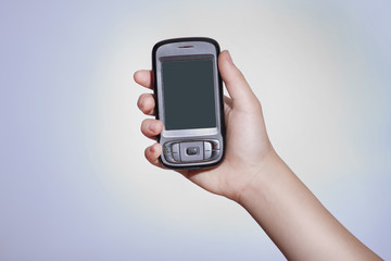Touchscreen mobile device