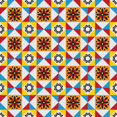 Classical tiles pattern