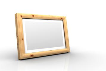 3D Holz-Bilderrahmen - Zirbe