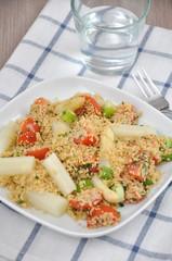Spargel Couscous Salat