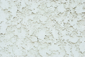 Close up on the white concrete wall texture background