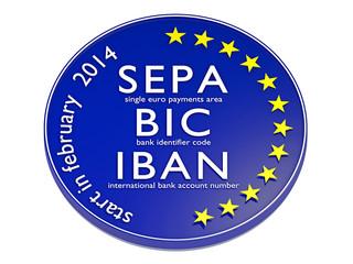SEPA, BIC, IBAN_2014 - 3D
